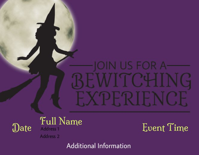 Bewitching Halloween Party