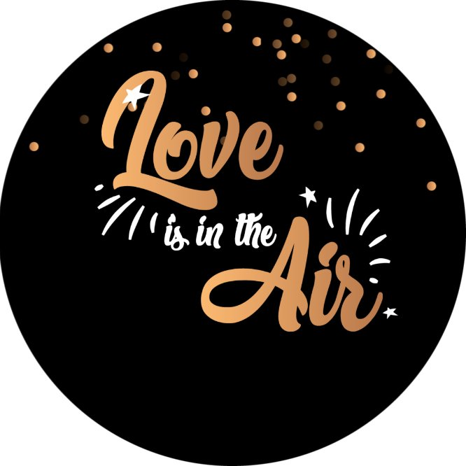 Love is in the Air Cookie