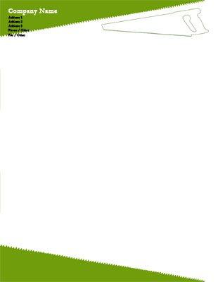 85 x 11 letterhead templates handyman spiritdancerdesigns Images