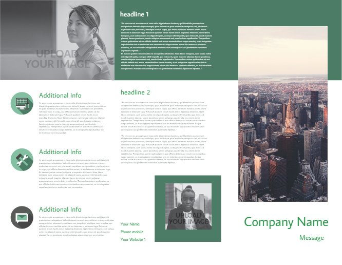Business Brochure Green