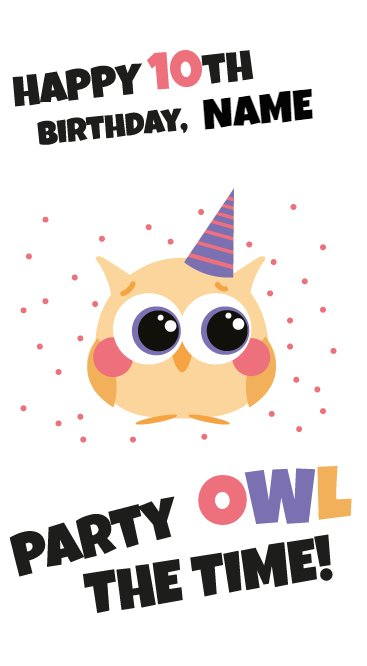 party owl the time