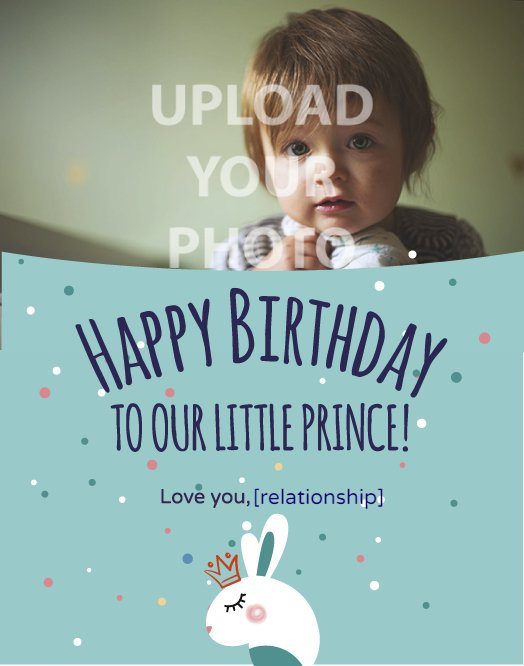 Prince Birthday Greeting