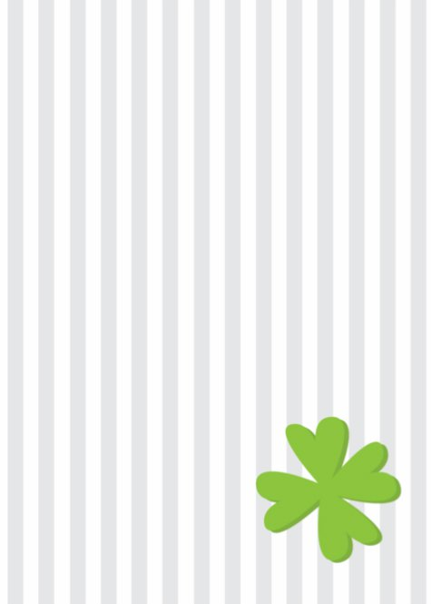 Striped St Patrick's Day Party Back thumbnail image