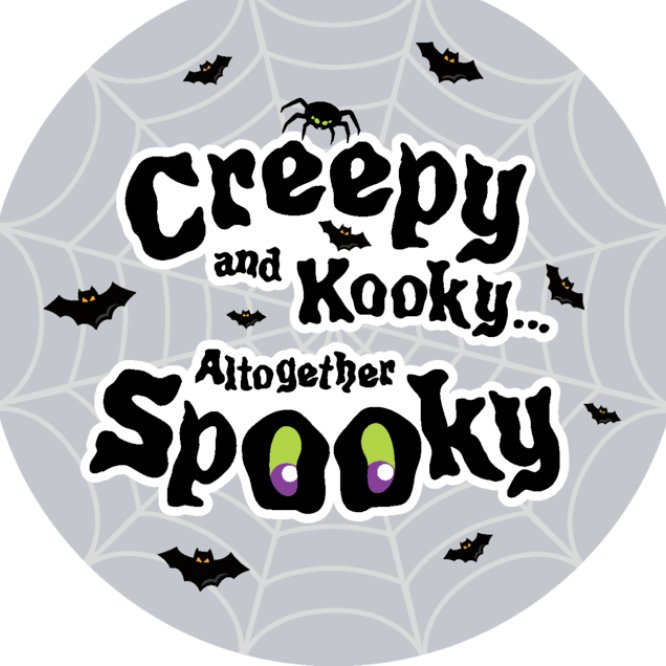 Grey creepy kooky