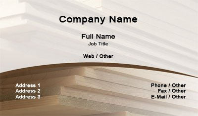 Business card templates carpenter carpenter wajeb Gallery