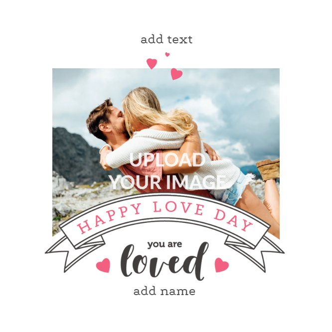 Happy Love Day Valentine's Card