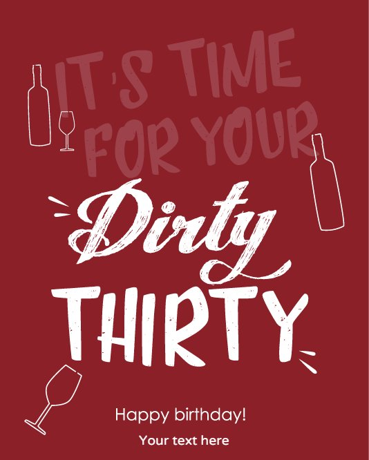 Dirty Thirty