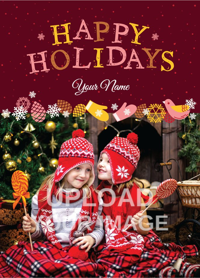 Happy Holidays MZarsala-color with Children