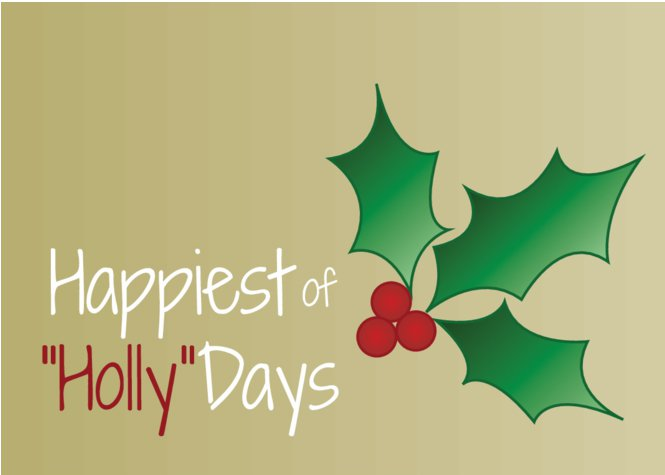 Happiest of Holly-Days