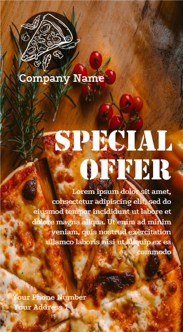 Pizzeria Special Offer Flyer