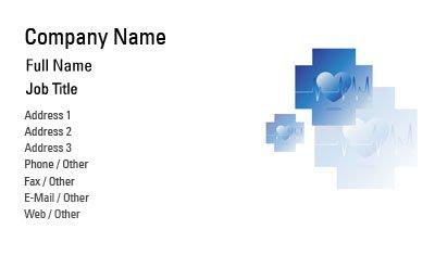 business card templates nursing care