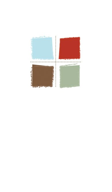 White and Color Block Back thumbnail image