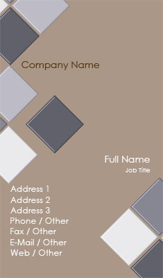 Business Card Templates Heating Cooling