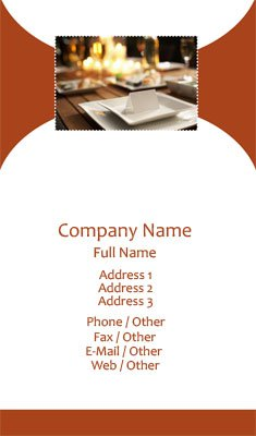 Business card templates event planning event planning wajeb Image collections