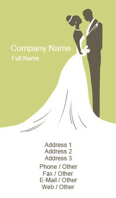 Business card templates event planning green wedding planner colourmoves Images