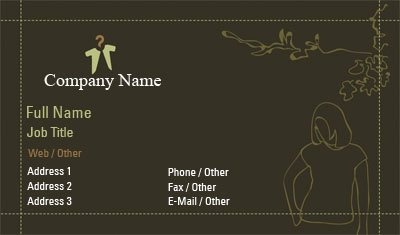 Business Card Templates - Clothing