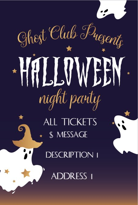 ghost halloween party