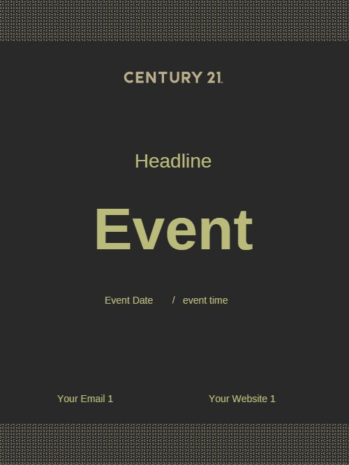 Century 21 Event Poster 2