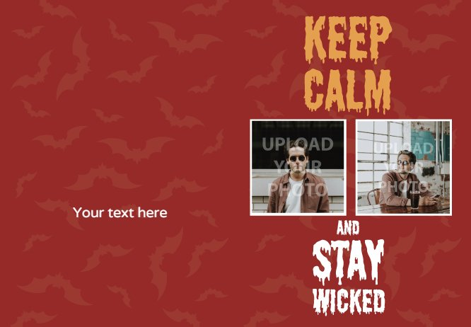 stay wicked red with photo