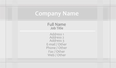 Business card templates borders grey borders colourmoves