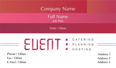 Business Card Templates Locksmith – Event Card Template