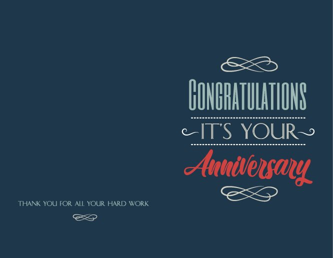 5 5 x 8 5 greeting card templates anniversary