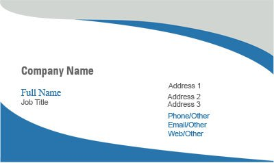 Business Card Templates - Consulting