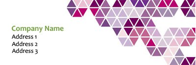 Pink and Purple Color Block