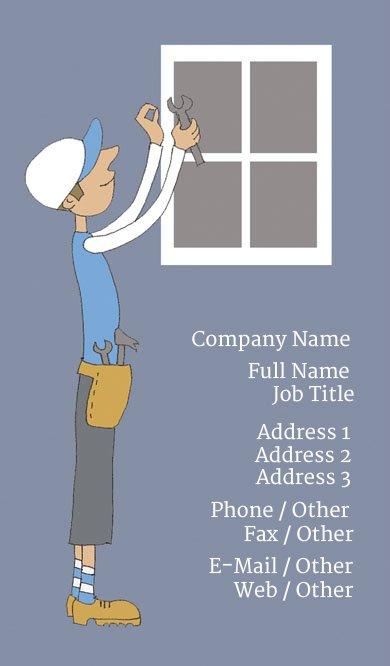 Business Card Templates Handyman - Handyman business card template