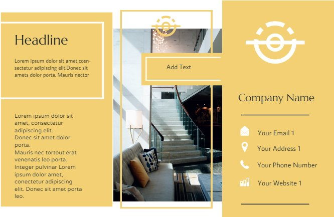 Interior Brochure Yellow Back thumbnail image
