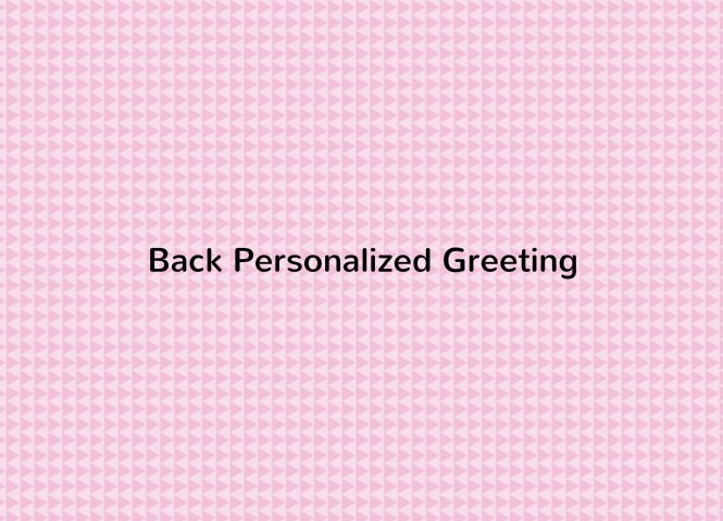 Pink Geometric Pattern Back thumbnail image
