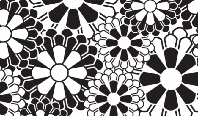 Flowers - Black and White Back thumbnail image
