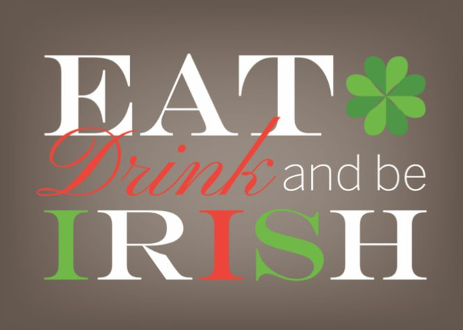 Eat Drink and Be Irish