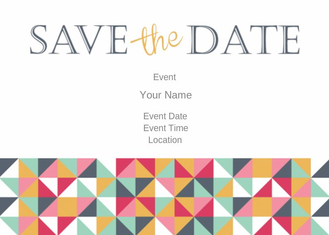 5 x 7 postcards templates save the date. Black Bedroom Furniture Sets. Home Design Ideas