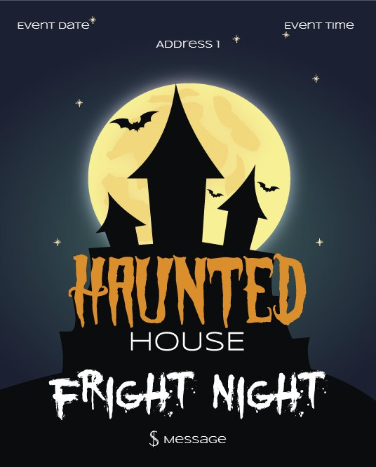 Haunted House fright night