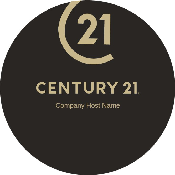 century 21 circle business card