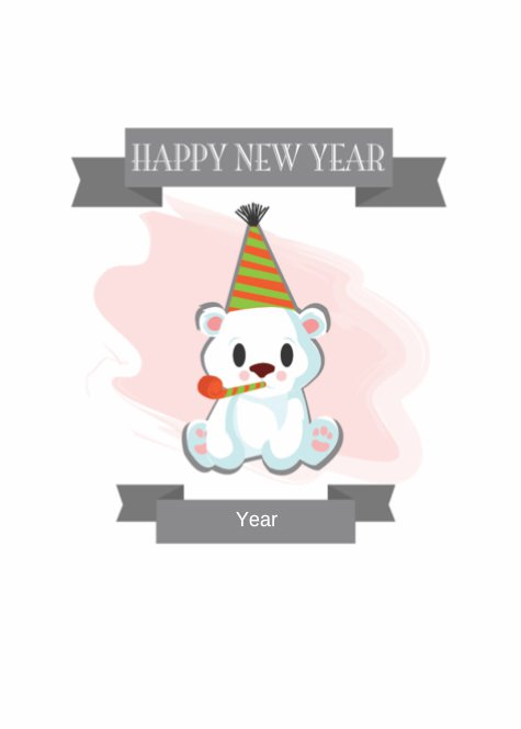 Polar Bear New Year