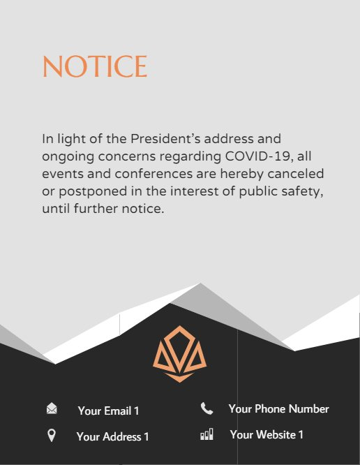 Cancelation Conferences